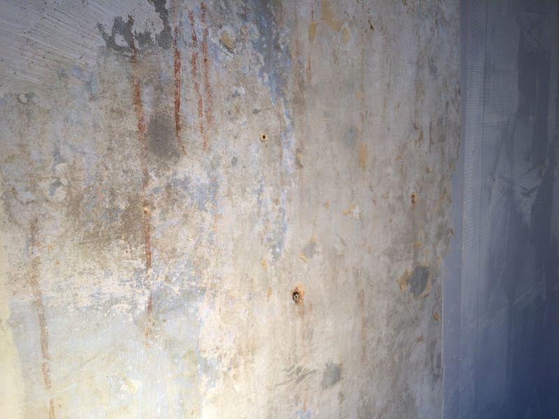 Rissarmierung-Wand